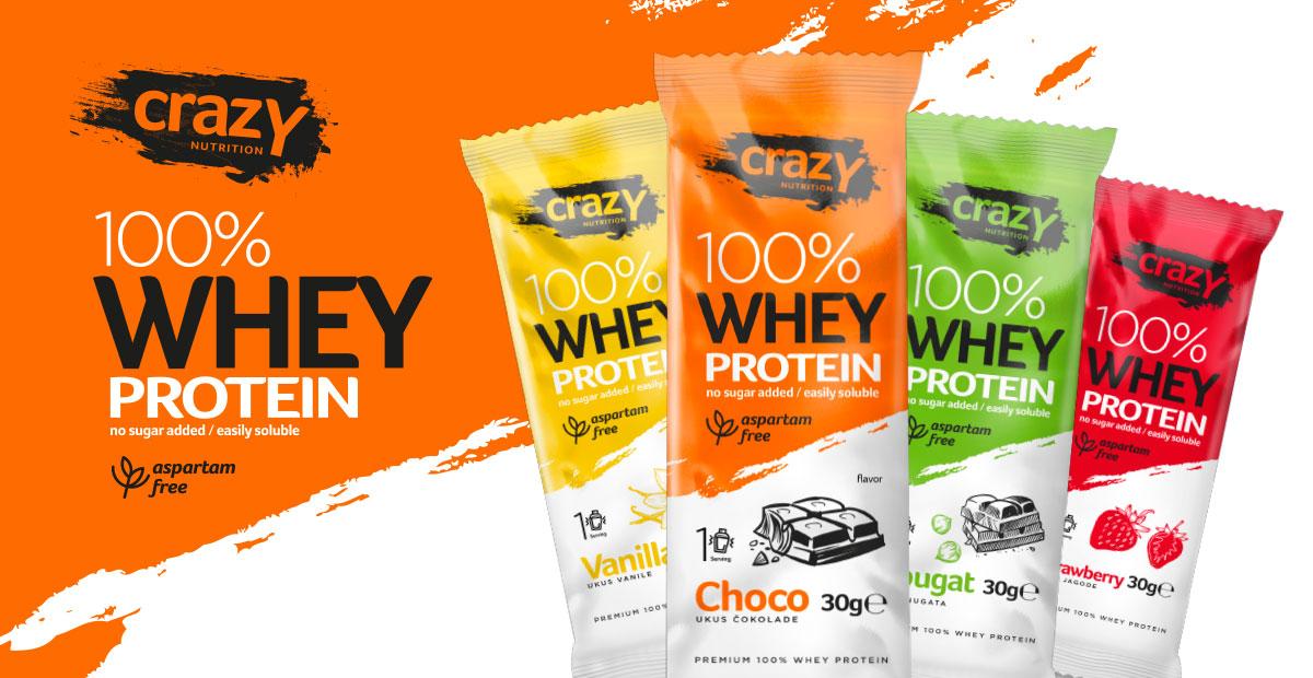 Crazy Whey Protein